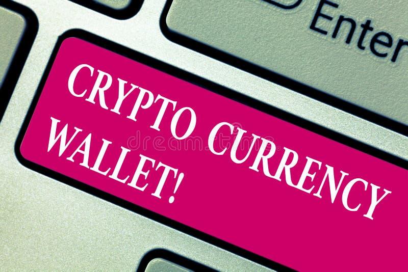 词文字文本隐藏货币钱包 允许用户对analysisage bitcoin的数字钱包的企业概念 免版税库存照片