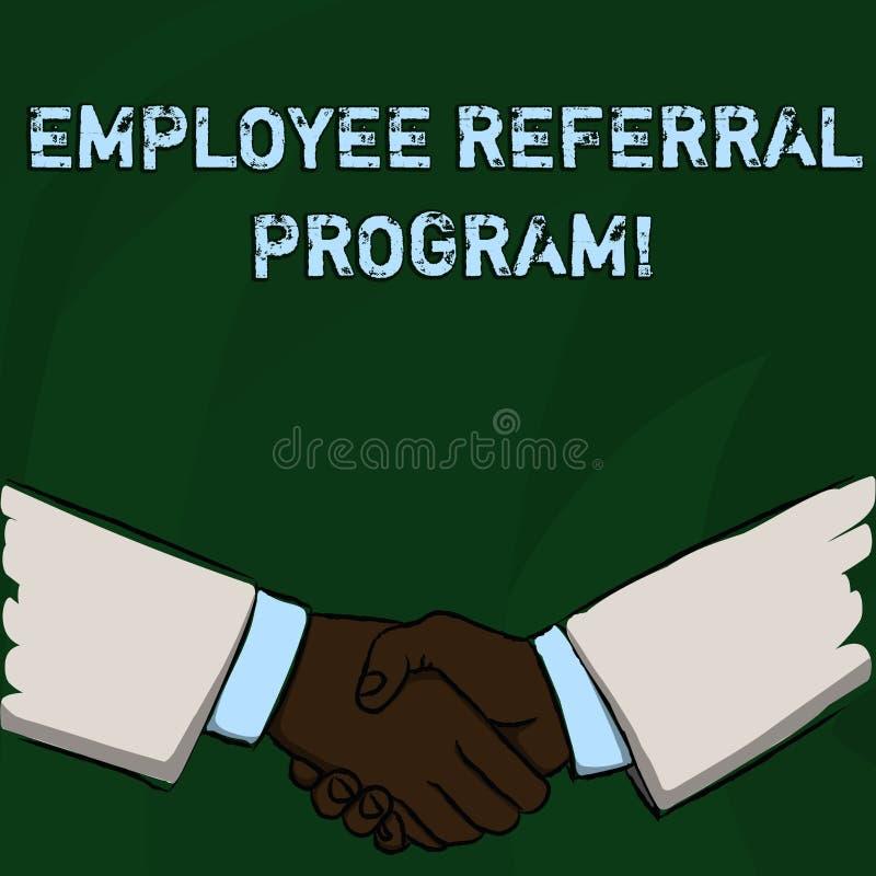 词文字文本雇员推举节目 企业概念为推荐正确的求职者份额空缺工作岗位 皇族释放例证