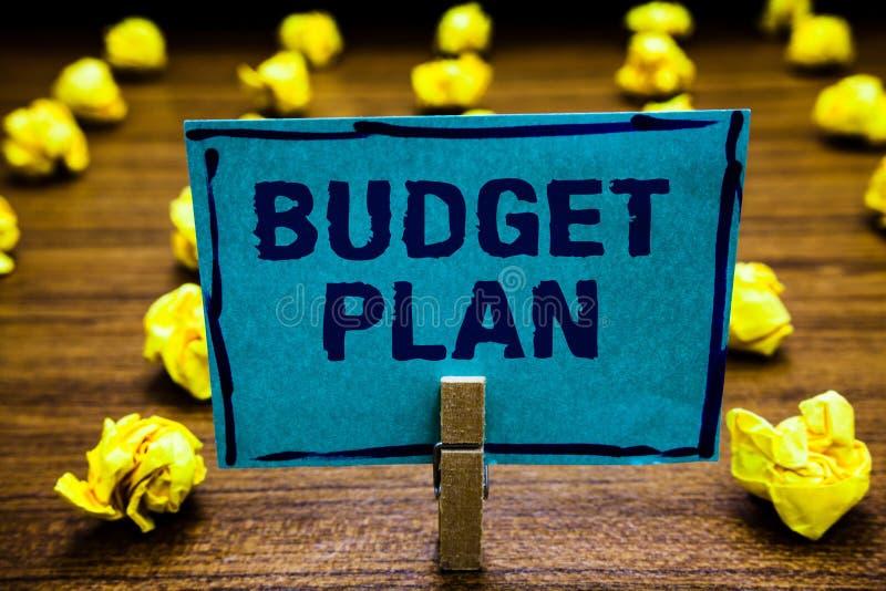 词文字文本预算计划 财政日程表的企业概念一个被定义的时期通常年晒衣夹holdin 库存照片