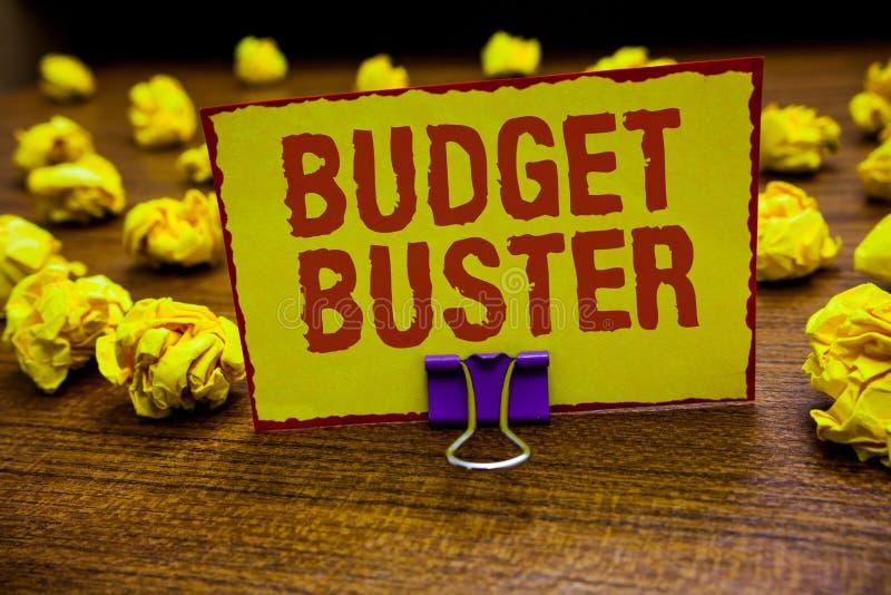 词文字文本预算钉头切断机 无忧无虑的消费的企业概念讲价过度花费夹子的多余的购买举行y 库存图片