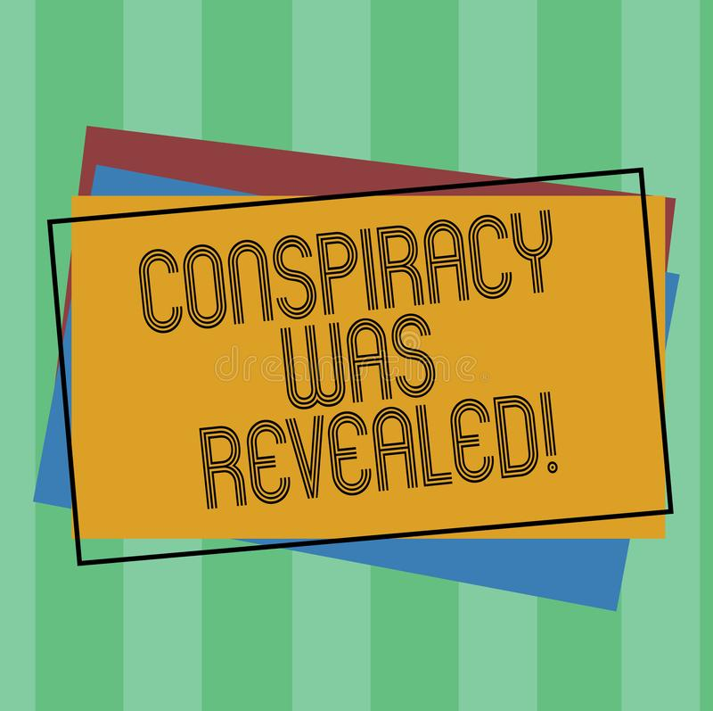 词文字显露了文本阴谋 活动的企业概念秘密地计划是被解开的堆  皇族释放例证