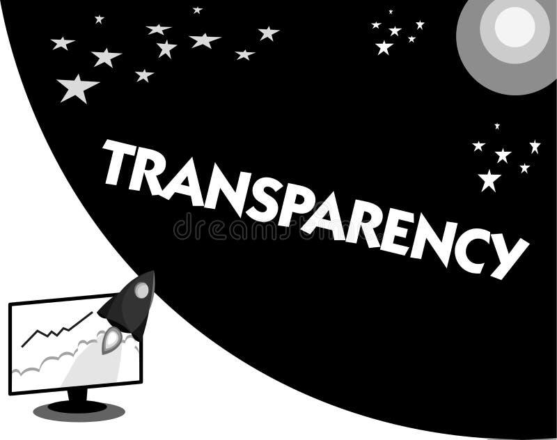 词文字正文透明性 的情况的企业概念透明清楚明显显然透亮 皇族释放例证