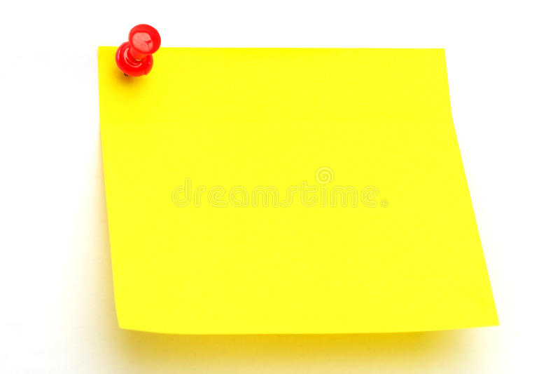 词条的板料 免版税库存照片