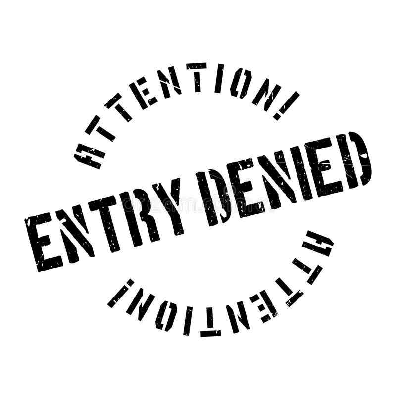 词条被否认的不加考虑表赞同的人 向量例证
