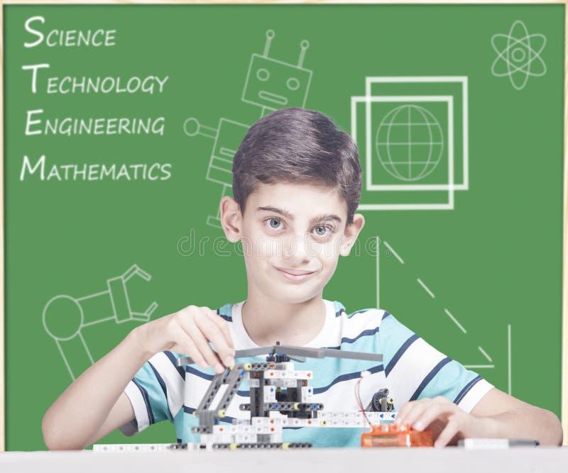 词根教育概念 库存照片