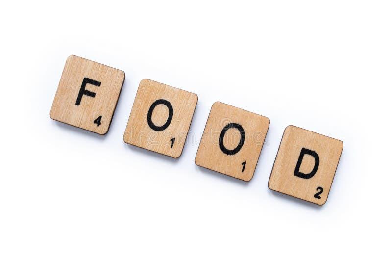 词食物 图库摄影