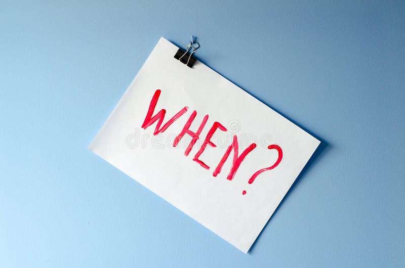 词,当?绘在白皮书板料请求在s的帮忙 库存照片