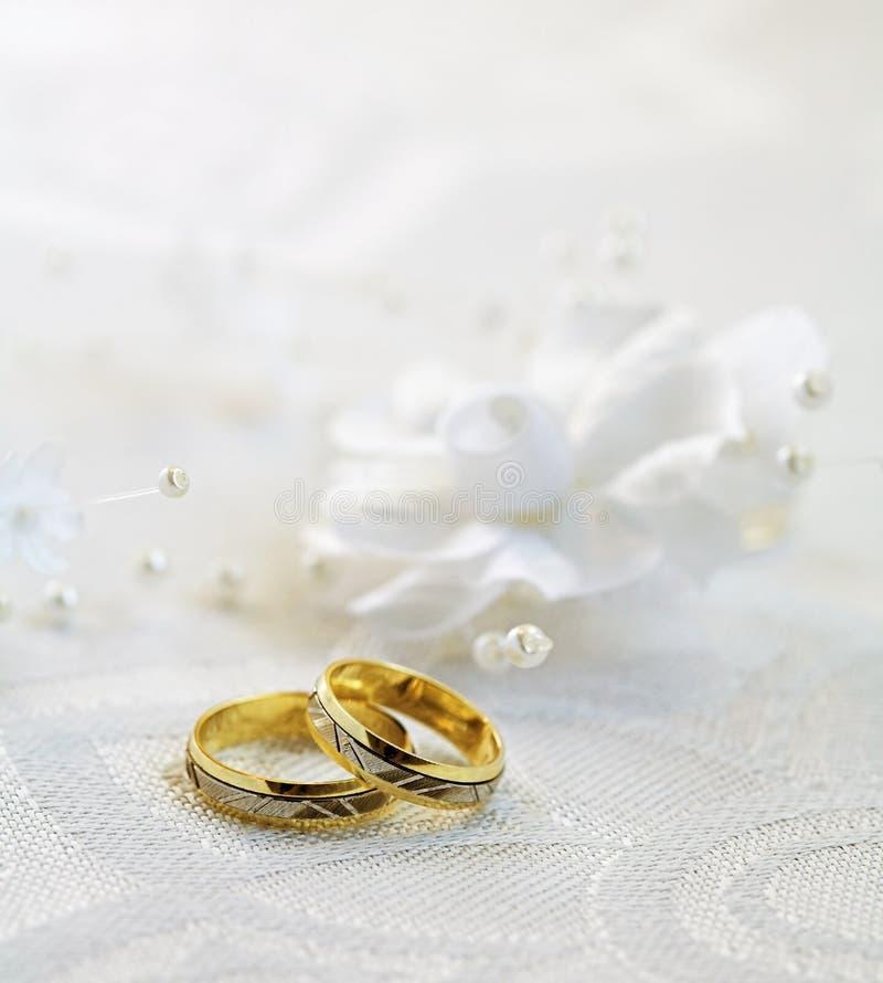 详细资料婚礼 库存照片