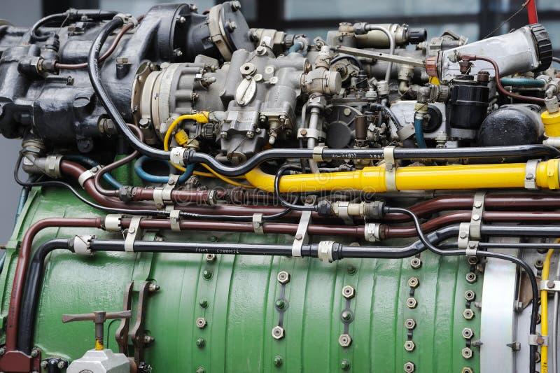 详细资料引擎涡轮喷气 免版税库存图片
