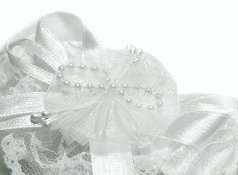 详细资料礼服婚礼 免版税图库摄影