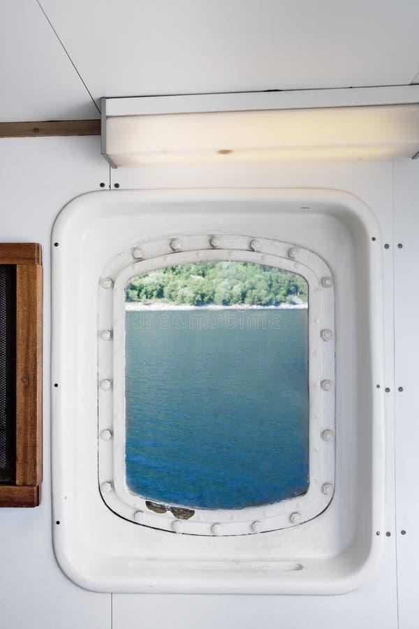 详细资料端口船 免版税图库摄影
