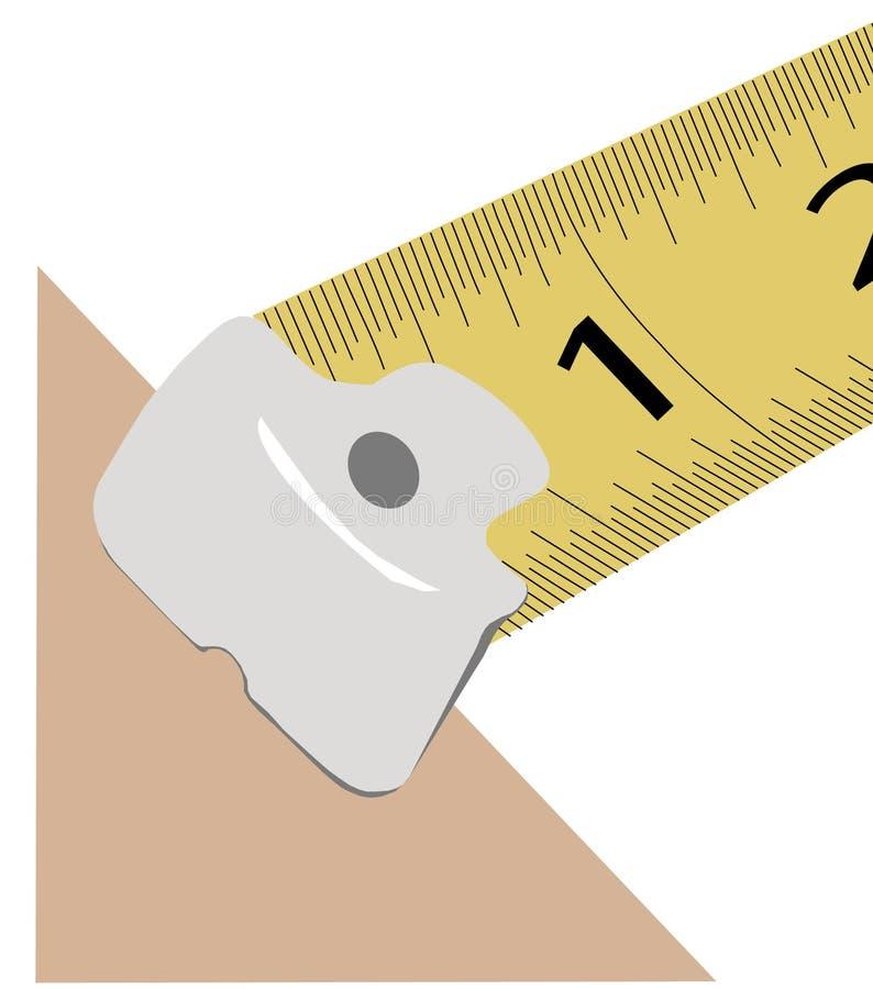 详细资料评定磁带 向量例证