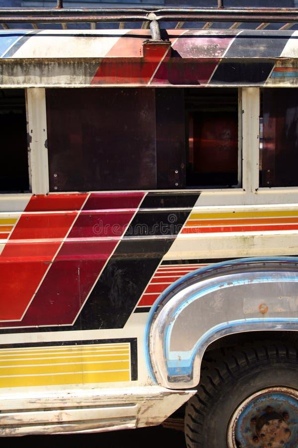 详细资料jeepney菲律宾 免版税库存图片