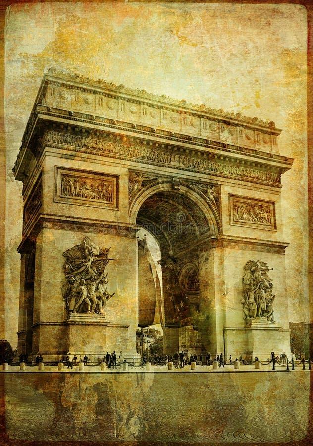 详述巴黎人 向量例证