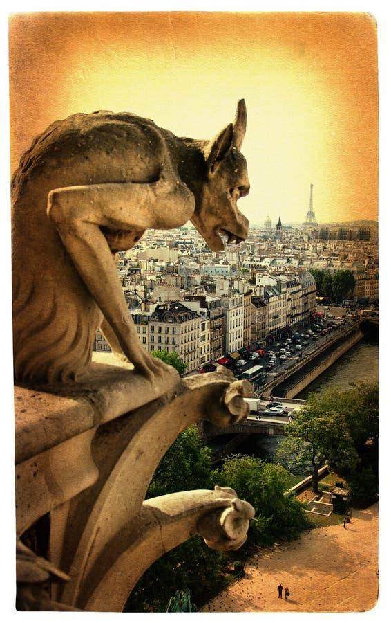 详述巴黎人 免版税库存图片