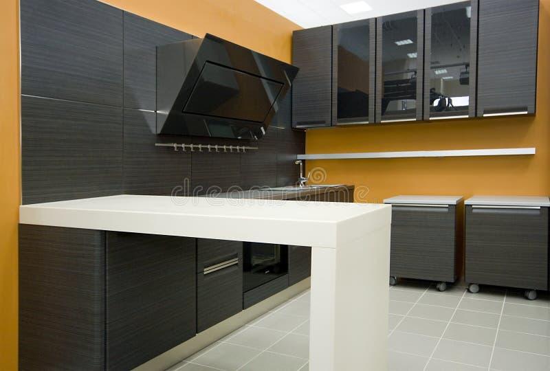详述现代的厨房 免版税库存图片