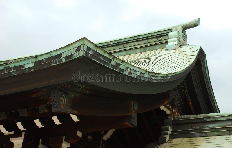 详细资料jingu meiji屋顶 库存照片