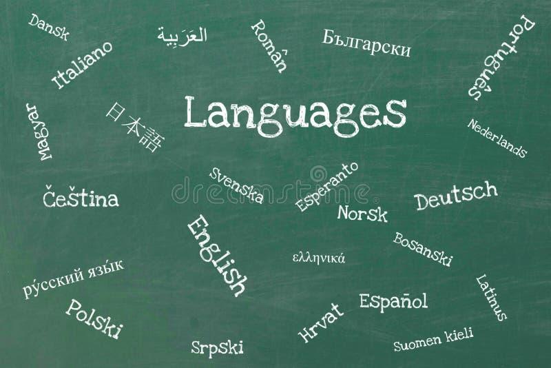 语言 向量例证