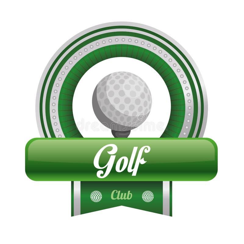 请检查俱乐部高尔夫球例证更多我投资组合炫耀 库存例证