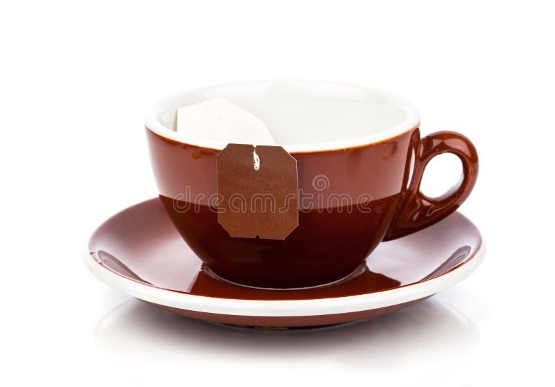请求咖啡杯图标查出的项目线路平稳的茶向量白色 免版税库存图片