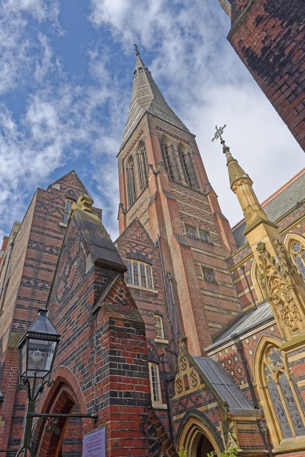 诸圣日教会,玛格丽特街,伦敦 图库摄影