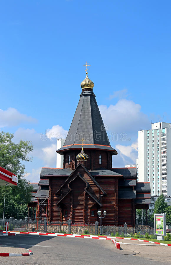 诸圣日纪念教会  库存图片
