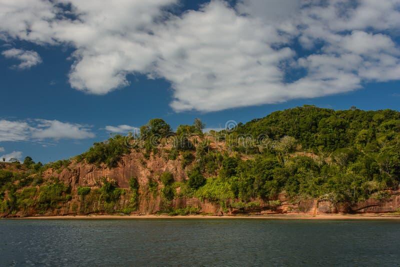 诸圣日-巴伊亚-巴西的海湾 库存照片