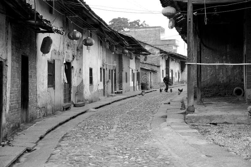 诸暨古老车道在中国 库存图片