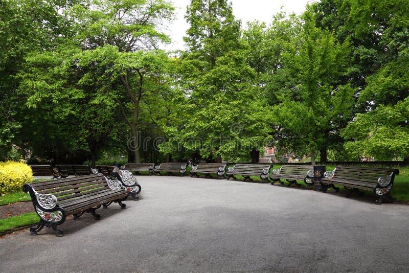 诺丁汉公园英国 库存图片