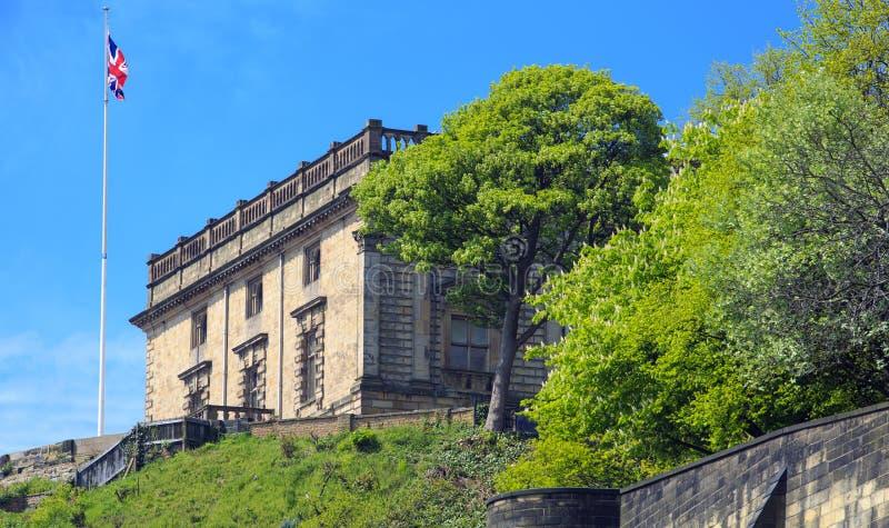 诺丁汉城堡 库存图片