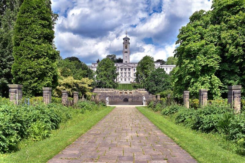 诺丁汉大学II 免版税图库摄影