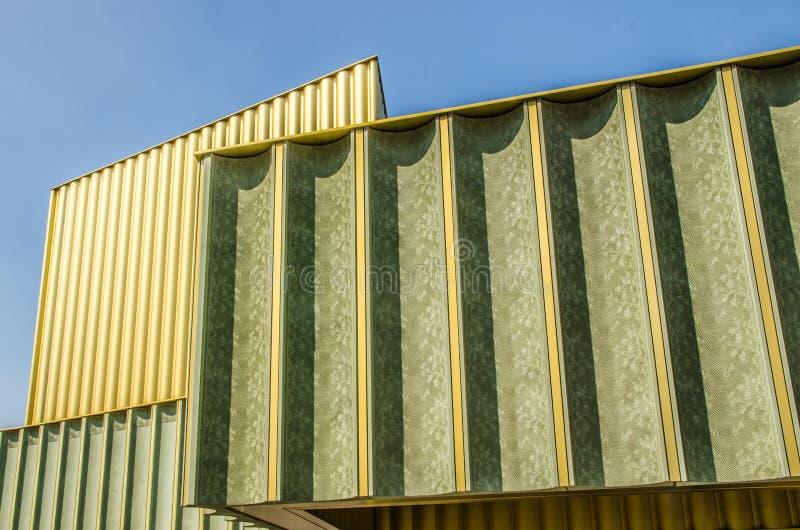 诺丁汉当代画廊 免版税库存照片
