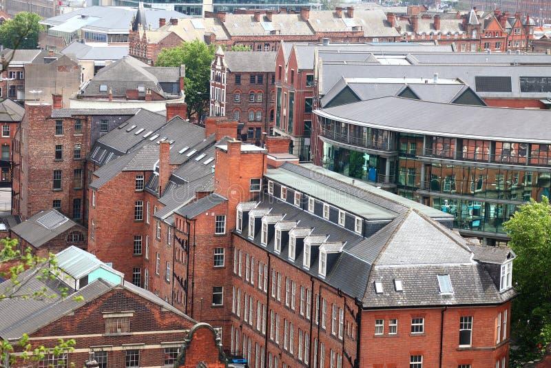 诺丁汉英国 免版税图库摄影