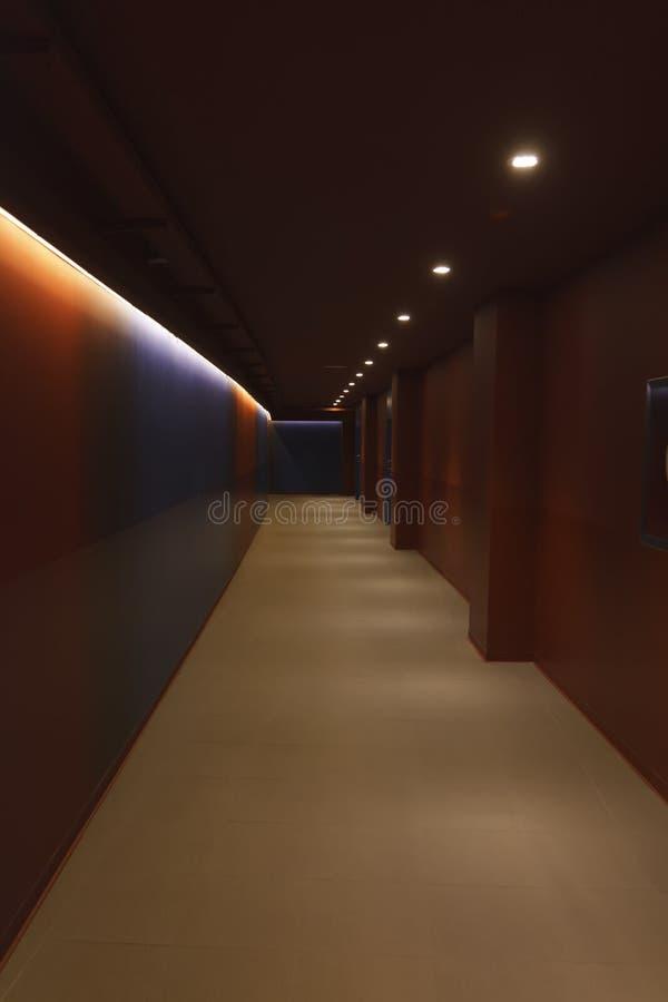 诺坎普走廊  免版税库存图片