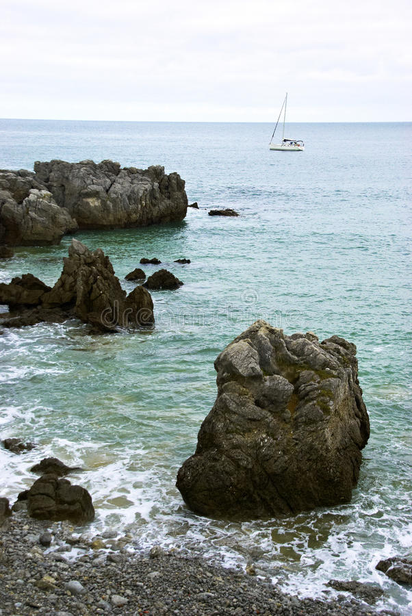 诺娅海岸  库存照片