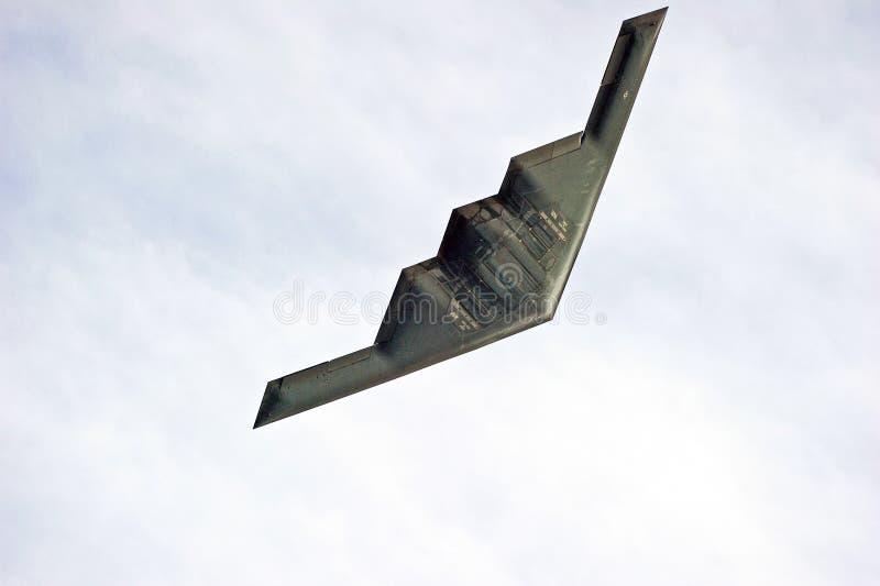 诺斯洛普・格鲁门B-2秘密行动轰炸机 免版税库存照片