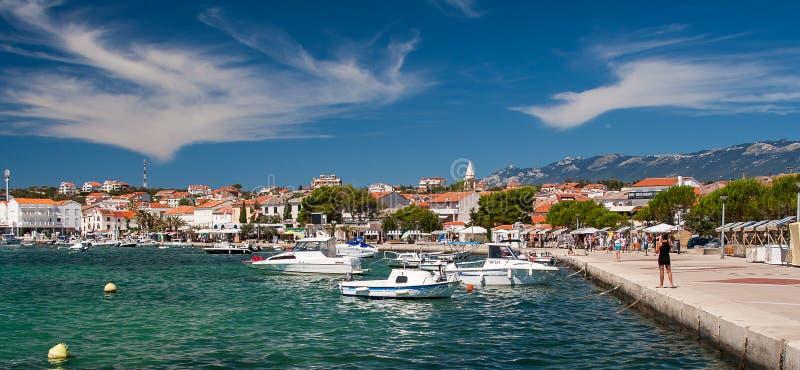 诺瓦利亚在克罗地亚 免版税库存图片
