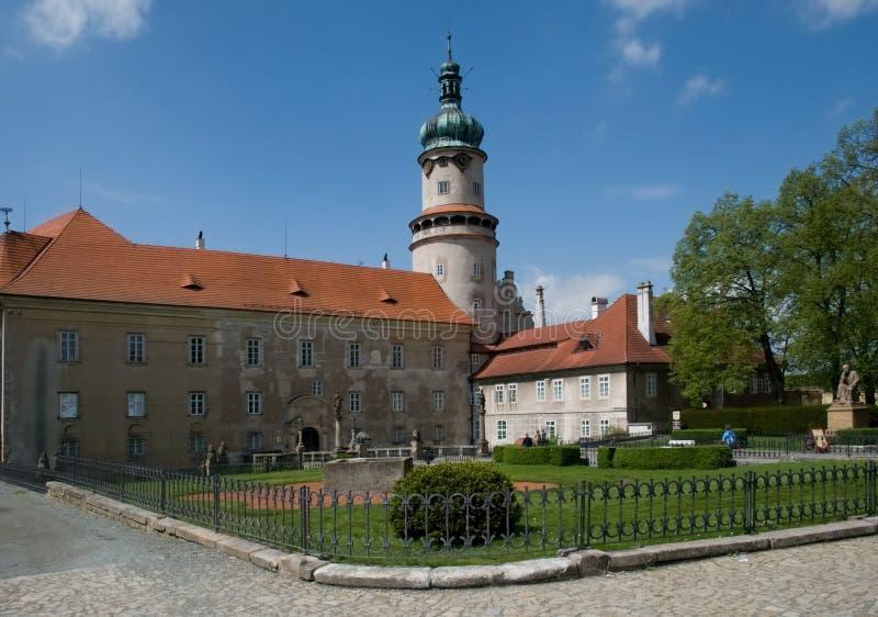 诺韦梅斯托nad Metuji,捷克共和国 库存图片