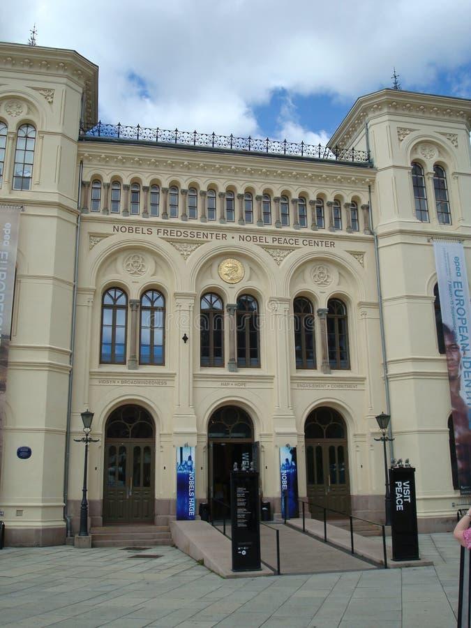 诺贝尔和平中心 免版税库存图片