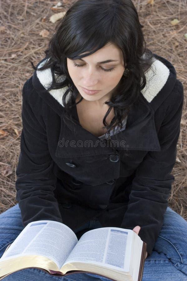 读取妇女 免版税图库摄影