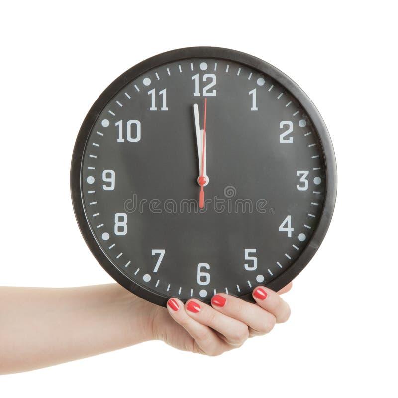 读秒,时间用尽,新年 免版税库存图片