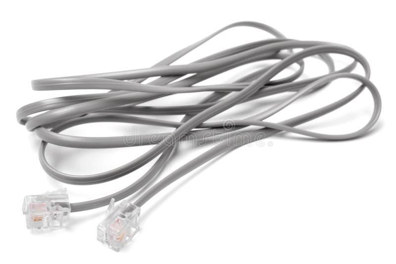 调制解调器缆绳 图库摄影