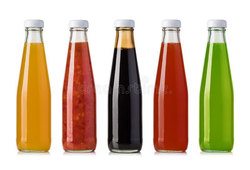 调味汁集合 库存图片