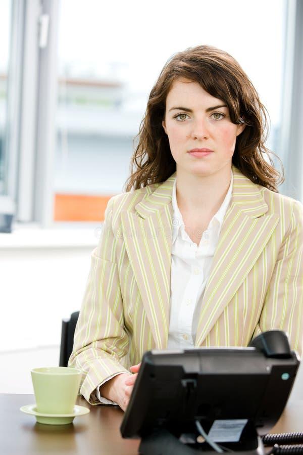 调度程序女性 免版税图库摄影