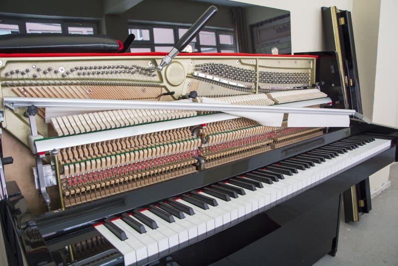 调整您的钢琴 库存图片