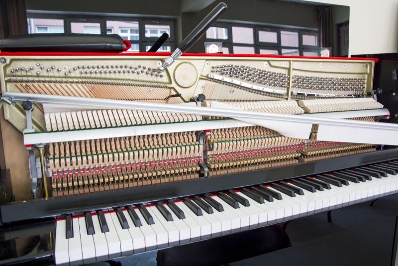 调整您的钢琴 图库摄影
