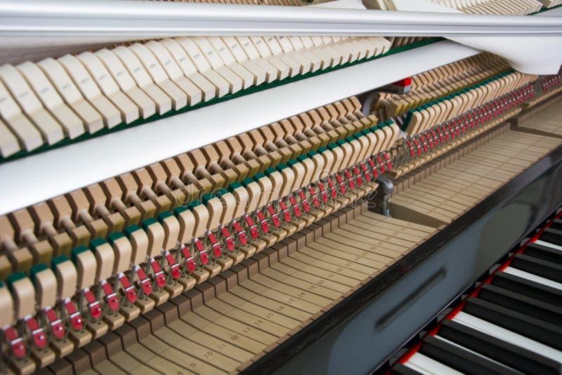 调整您的钢琴 免版税图库摄影