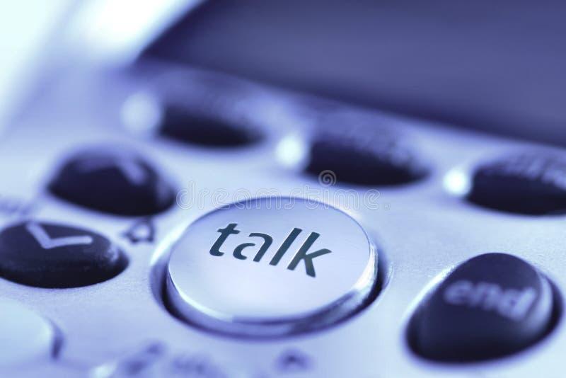 谈话 免版税库存照片
