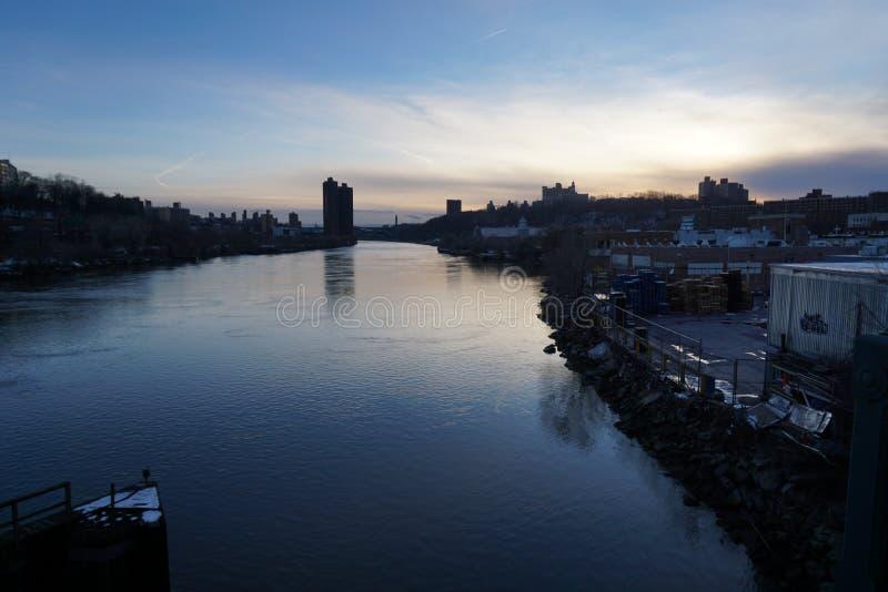 谢尔曼小河 库存图片