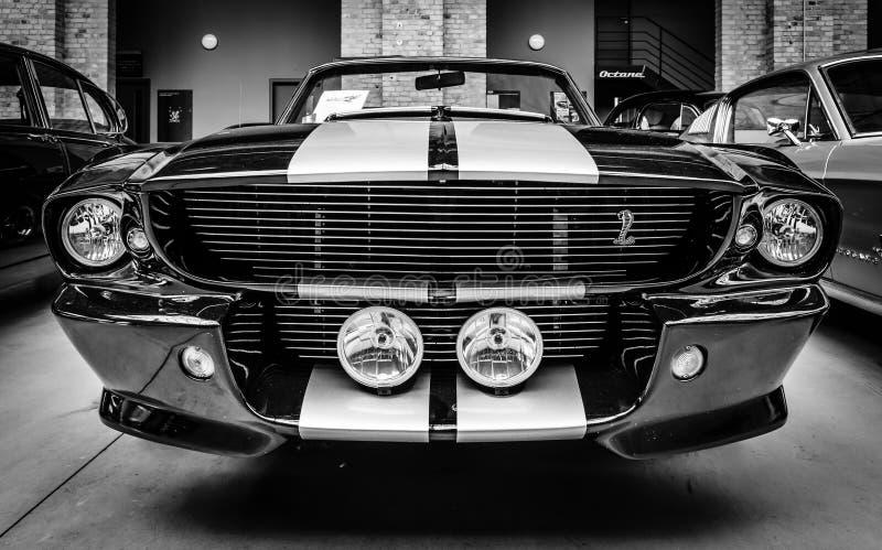 谢尔比野马GT500 Cabrio Eleanore 免版税库存照片